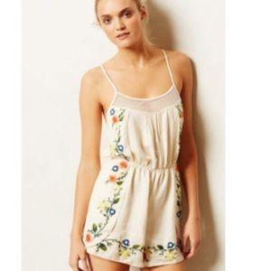 66724deed2f5 Anthropologie Intimates   Sleepwear - Anthropologie Eloise lounge romper  Floral ...